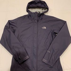 Purple North Face Rain Jacket